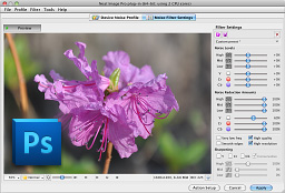 Neat Image plug-in for Photoshop x64 full screenshot